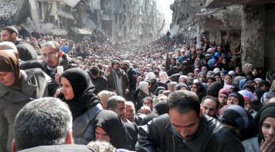 Yarmouk refugee camp, Syria