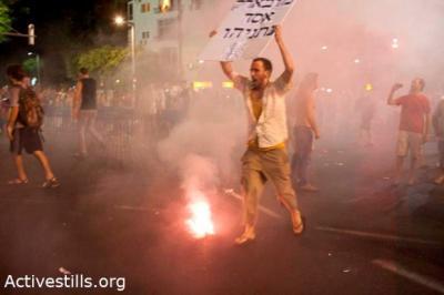 Tel Aviv rent riot