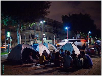 Tel Aviv tent town